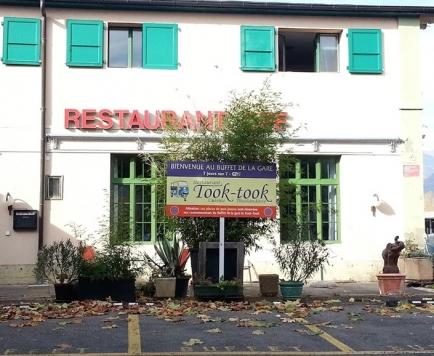 """Restaurant """"Le Buffet de la Gare"""" à Bex"""
